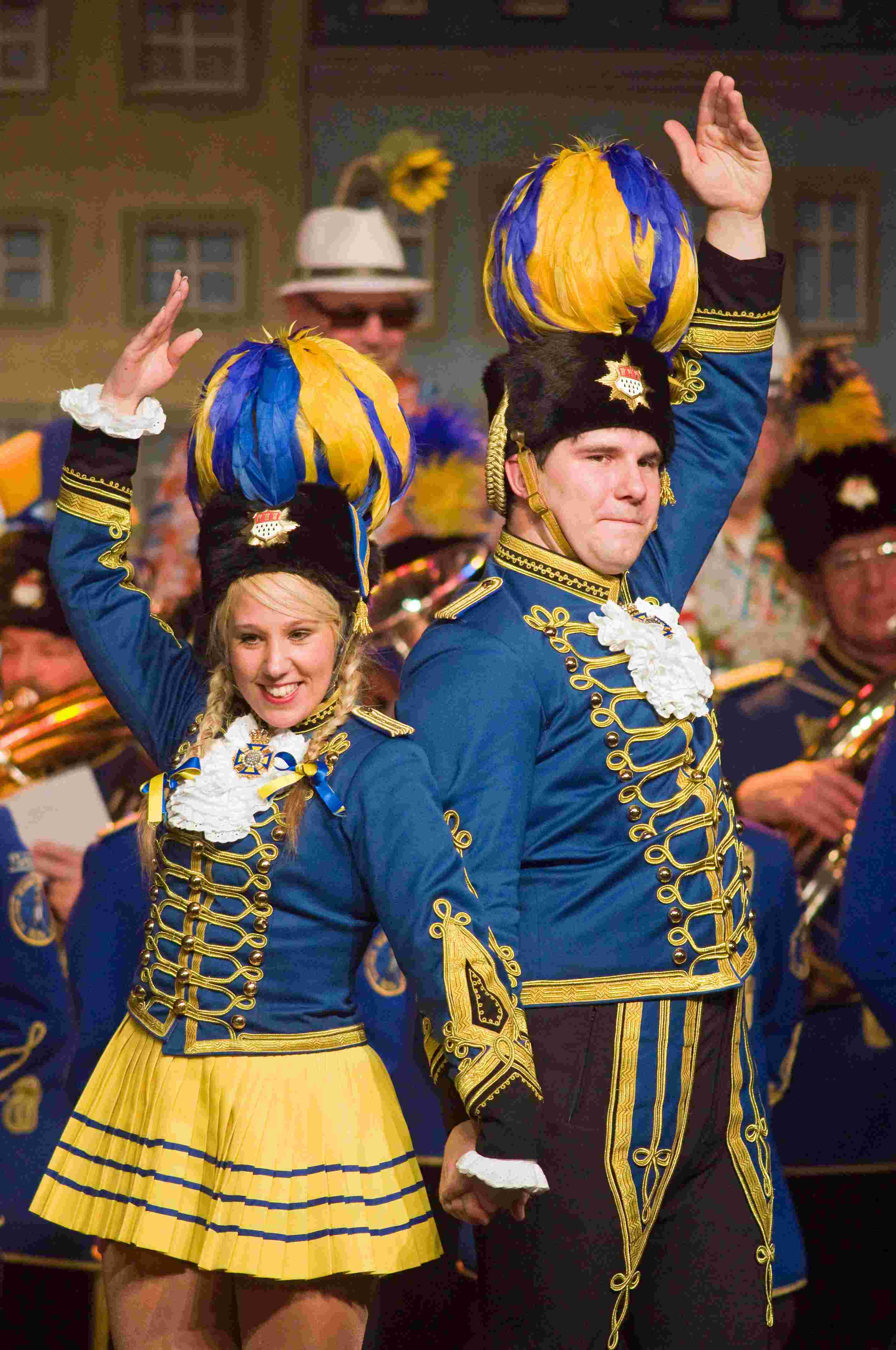 Sitzung 2014 27 - Husaren blau-gelb von 1925
