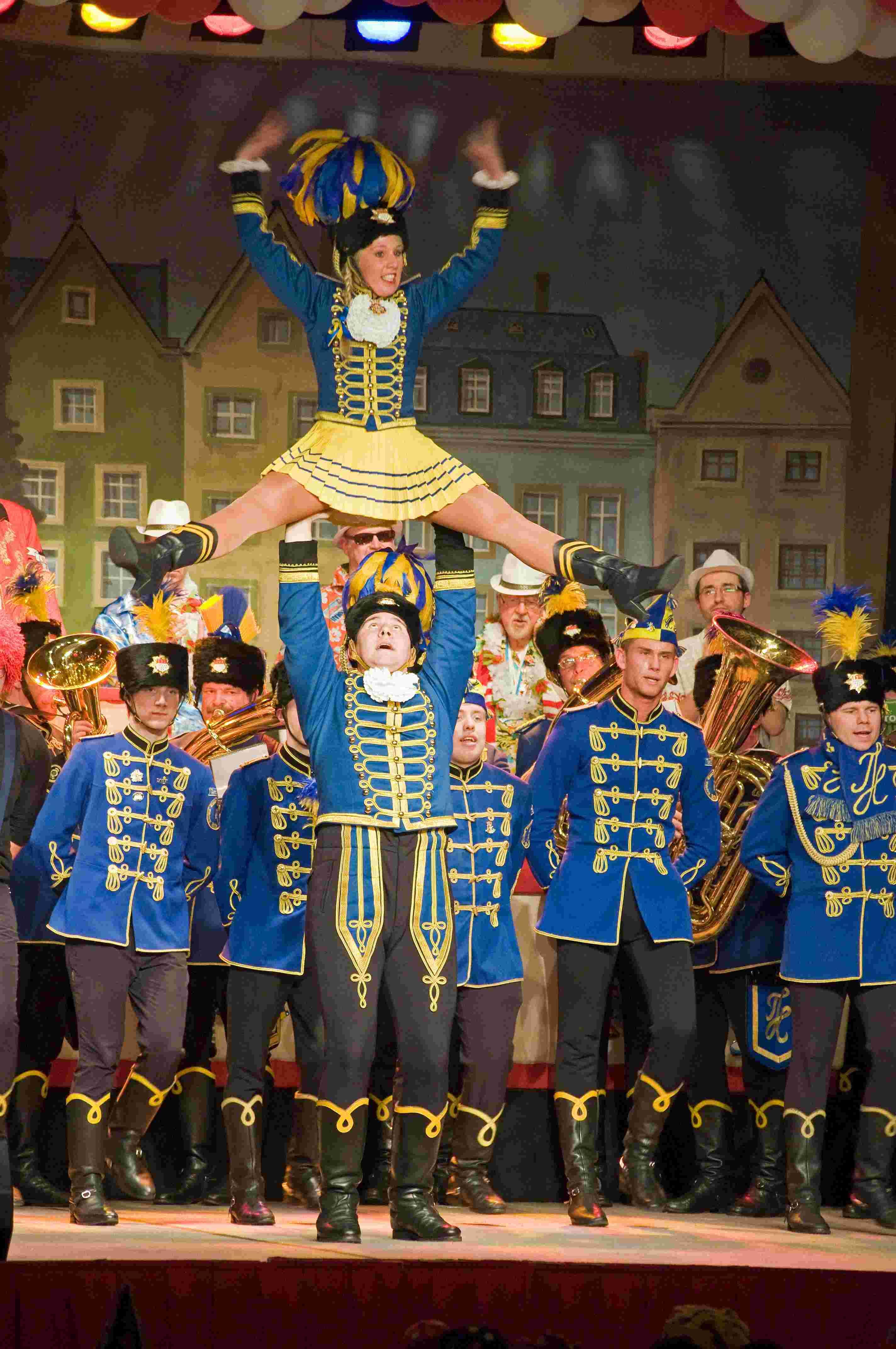 Sitzung 2014 29 - Husaren blau-gelb von 1925