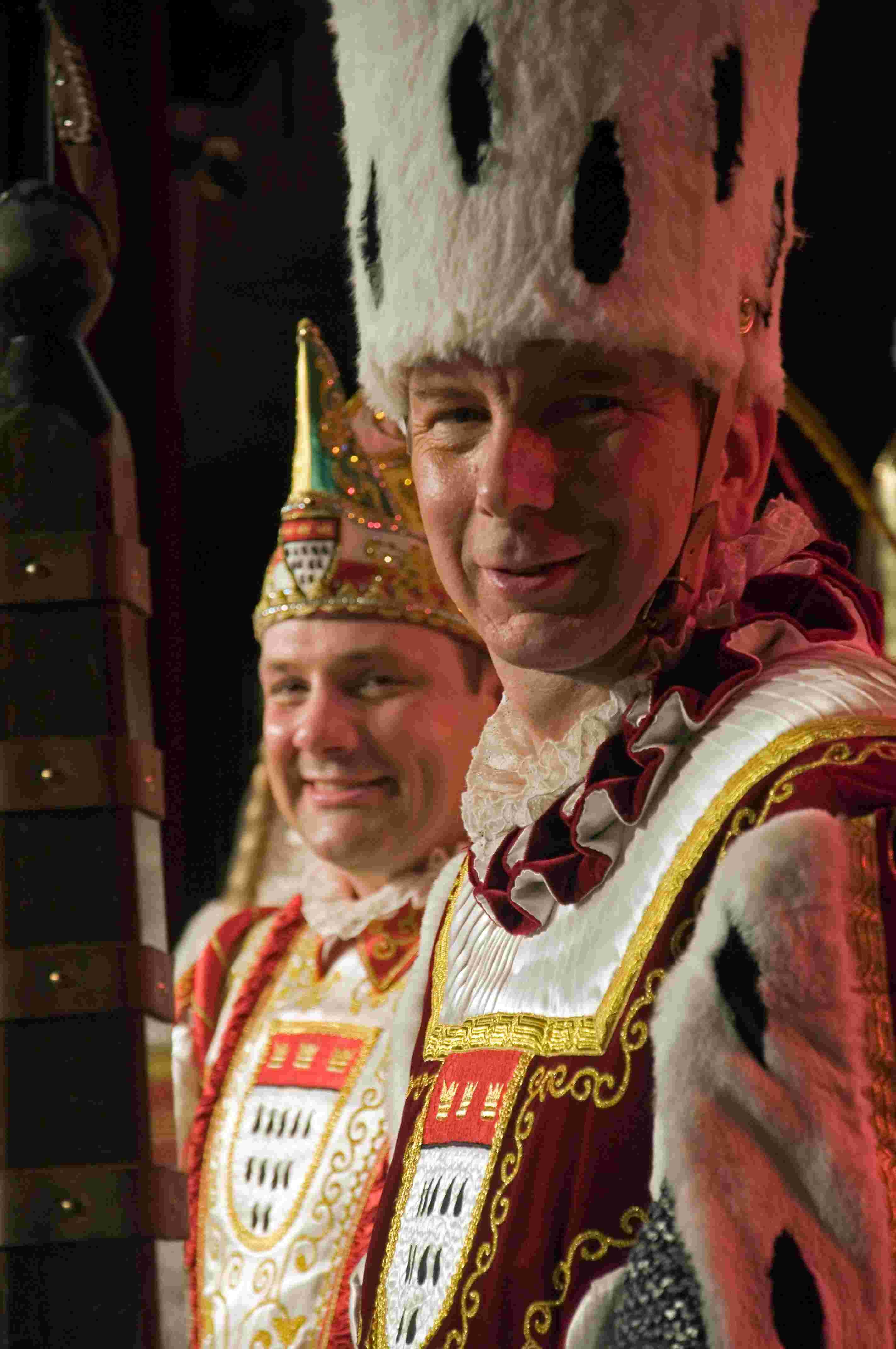 Sitzung 2014 36 - Dreigestirn (Bauer und Prinz)